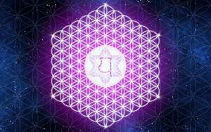 Spiritual Sacred Geometry Flower Of Life Wallpaper - WallDevil