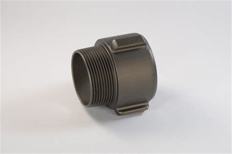 Alum. Coupling Npt Coupling 2 1/2 X 2 7/8 Male R/l (each