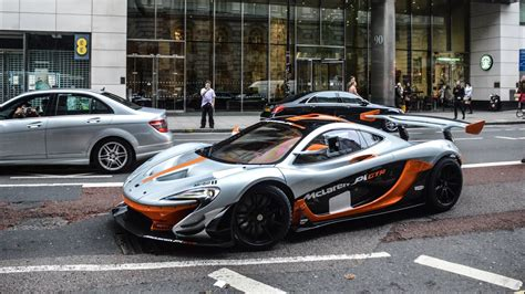 Mclaren P1 Gtr Revs And On The Road In London!