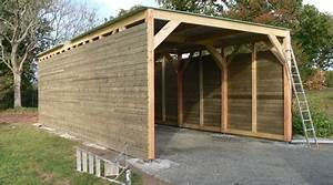 prix d39une construction de garage cout de construction With construction d un garage en bois
