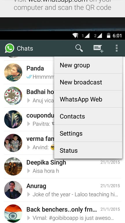 how to use whatsapp from desktop via official whatsapp web client