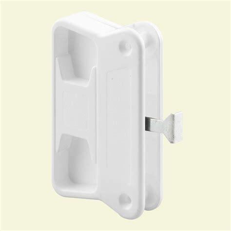 screen door handle home depot prime line white sliding screen door handle a 212 the