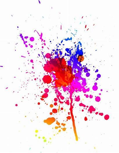 Splash Paint Clipart Transparent Splatter Watercolor Clip