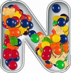 presentation alphabets candy dish letter n With alphabet letter candy dishes