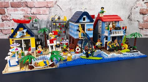 How To Make A Great Lego City By Small Brick City