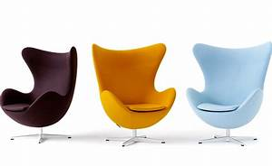 Arne jacobsen egg chair hivemoderncom for Fritz hansen egg chair