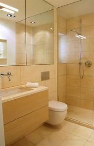 Salle De Bain En L : l 39 am nagement petite salle de bains n 39 est plus un probl me inspirez vous avec nos id es en ~ Melissatoandfro.com Idées de Décoration