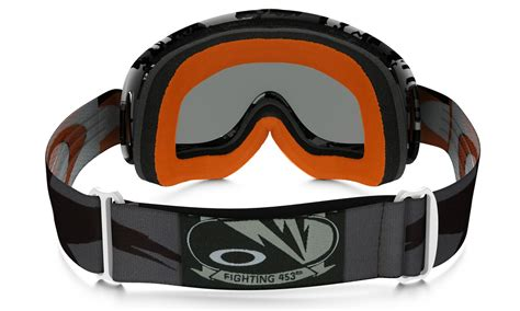 tinted motocross goggles oakley new mx o frame flight series dirt bike falcons
