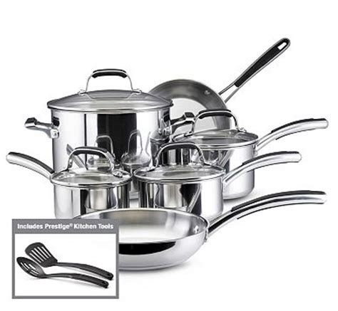 kohls faberware stainless steel  pc cookware  southern savers