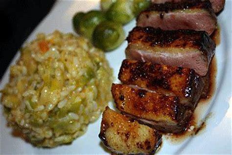 recette de canapé recette de magret de canard laqué