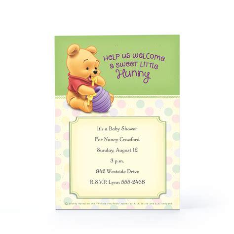 winnie the pooh baby shower invitations winnie the pooh baby shower invitation template