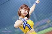 中職/台灣啦啦隊女神峮裙 給日本球迷的溫情問候 | 運動 | NOWnews 今日新聞