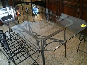 Table Fer Forgé Occasion : table verre fer forg occasion table de lit a roulettes ~ Teatrodelosmanantiales.com Idées de Décoration
