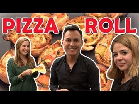 pizza hervé cuisine pizza rolls recettes de cuisine en vidéo