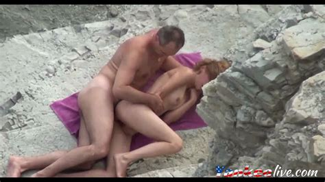 Voyeur On Public Beach Sex In The Mountains Feature On