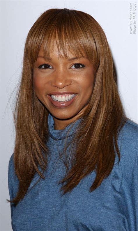 elise neal simple fix hairstyle  layers