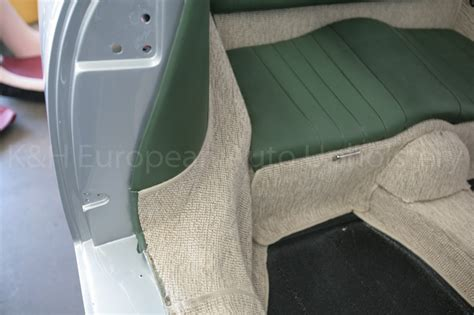 Porsche 356a Coupe Green With Oatmeal Carpet