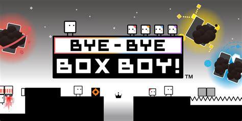 bye bye boxboy nintendo ds  software games