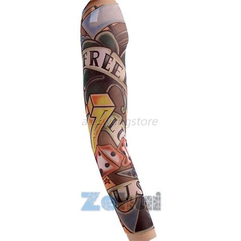 pc tattoo uv block cool arm sleeves cover sun protection