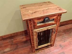 barnwood bedroom furniture rustic nightstands and With barnwood bedside table