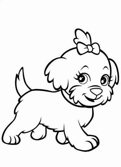 Coloring Puppy Pages