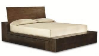 Contemporary Platform Beds Storage