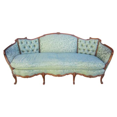 american antique carved sofa loveseat antique