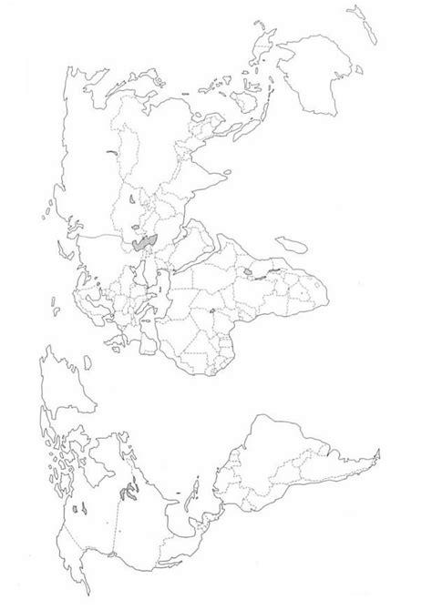 Kaart Kleurplaat by Kleurplaten En Zo 187 Kleurplaten Landkaarten
