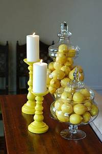 25 best ideas about yellow kitchen paint on pinterest With best brand of paint for kitchen cabinets with yellow glass candle holder