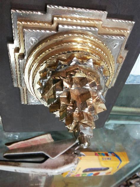 kleed 4x4 4x4 sri yantra sumeru zeer speciaal goud zilver