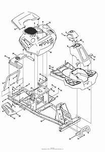 Mtd 13b226jd099  247 290000   Rer1000   2013  Parts Diagram For Frame  U0026 Fender