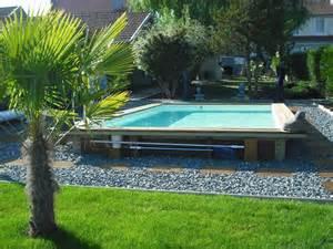piscine hors sol bois pas cher piscine discount
