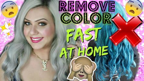 Remove Any Color From Hair