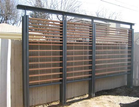 Outdoor Trellis Panels by Great Idea To Hide An Fence Or Wall Add Some