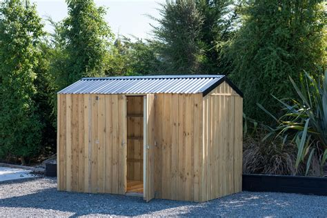 wooden garden sheds   kiwi backyards