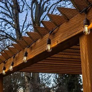 Torchstar, 50ft, Led, Outdoor, Weatherproof, Commercial, String, Lights, Outdoor, String, Lights, For