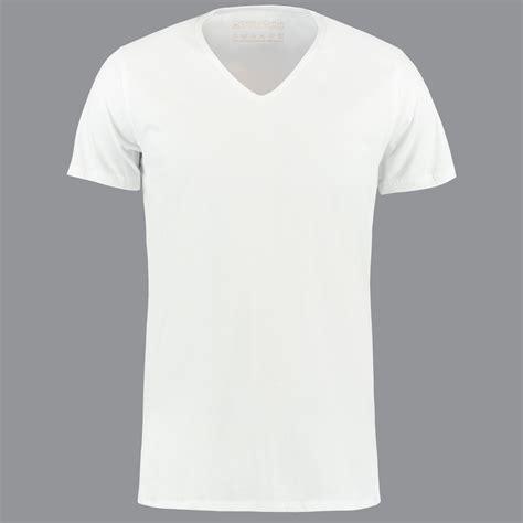 wit diep  hals  shirts van shirtsofcotton  shirts