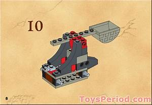 Lego 6032 Catapault Crusher Set Parts Inventory And