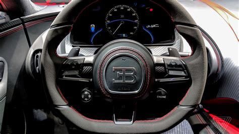Sitting Inside Bugatti's New m Chiron Didn't Make Me A