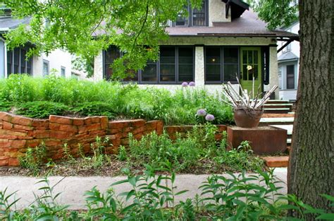 modern low maintenance cottage garden modern