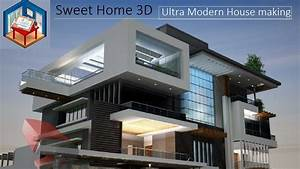 Ultra Modern House Designing In Sweet Home 3d