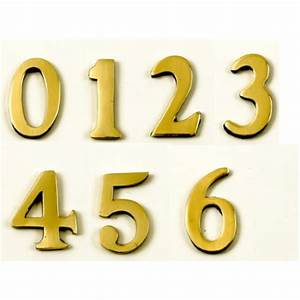 contemporary 15quot 38mm numbers 1 to 2 inch letters and With 1 brass letters