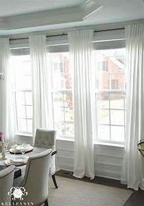 Ikea Ritva Curtain Panels In Dining Room Window