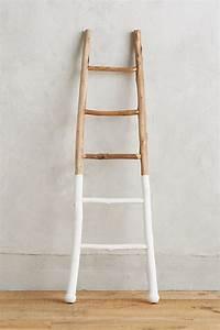 White-Dipped Ladder Anthropologie