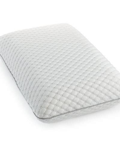macys memory foam pillow science memory foam classic standard pillow