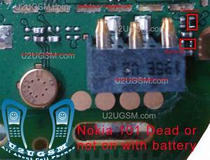 Nokia 101 Dead And Not Switch On With Battery