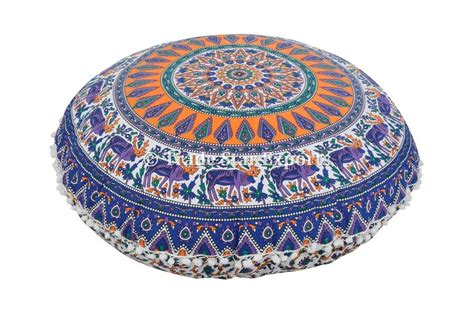 Pouf Ottoman Insert by 32 Quot Mandala Floor Throw Pillows With Insert Large Bohemian