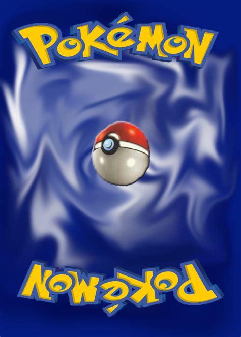Pokemon Card Back