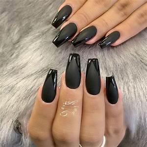 The 25+ best Matte black nails ideas on Pinterest | Matt ...