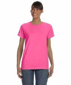 fort Colors C3333 La s Garment Dyed T Shirt